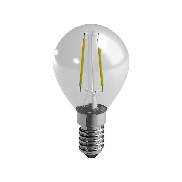 Filament Krone P45 2,4W/827 E14 Klar (25W) 2700K
