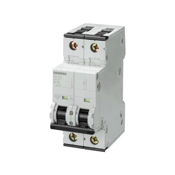 Automatsikring C-Kar, 10A, 2P, 6kA