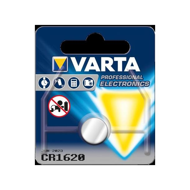 Batteri CR1620 3,0V 60mAh
