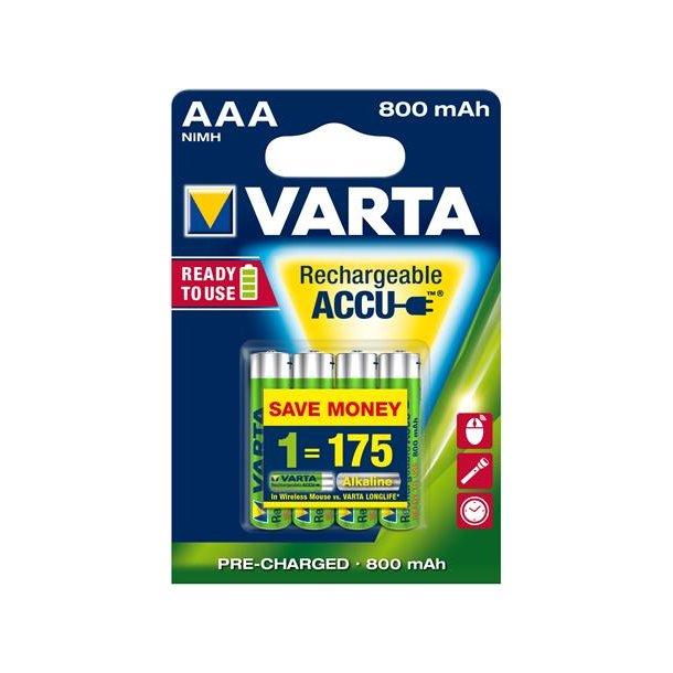 Batteri Nimh AAA 800mAh Hr03-4B