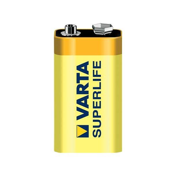 Batteri Superlife 6F22-1B 9V