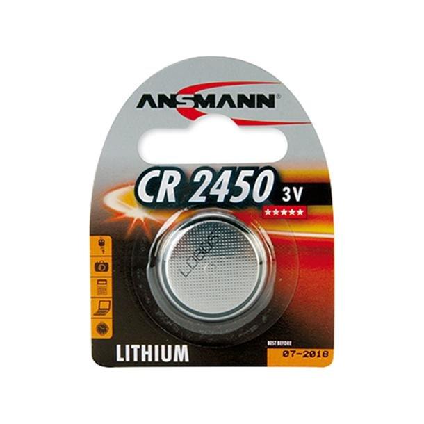 CR2450 Knapcelle Batteri 3V/600Mah Li (=10 stk.)