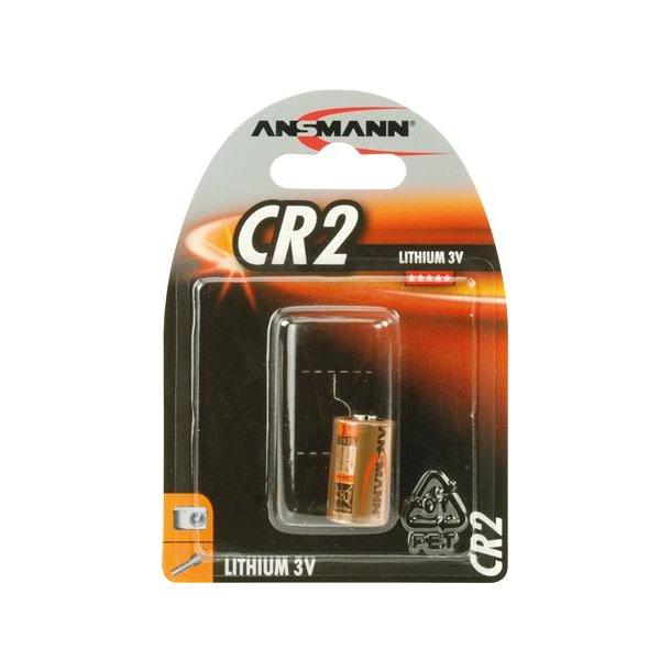 Batteri Lithium CR2 3V