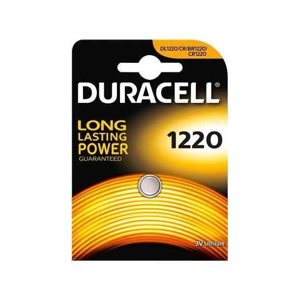 Batteri Cr1220 Lithium 3,0 Volt.