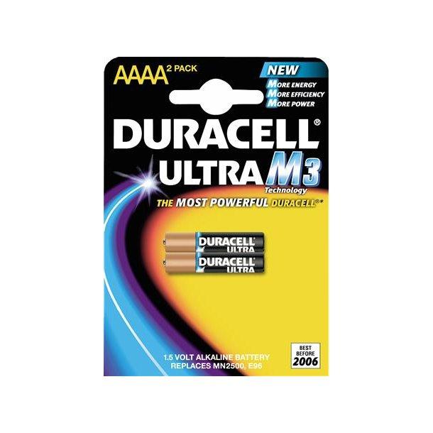 Batteri Ultra Mx2500 Aaaa