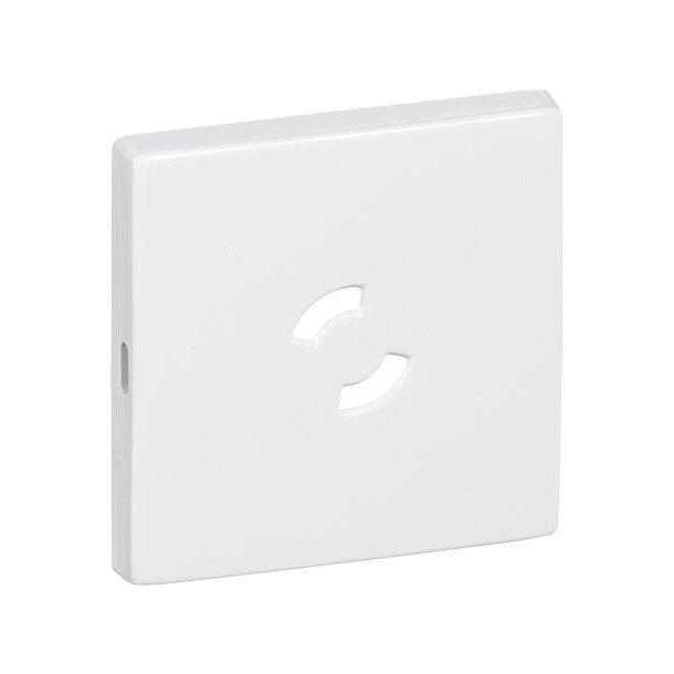 Dæksel 50X50 For Lampestikkontakt Hvid