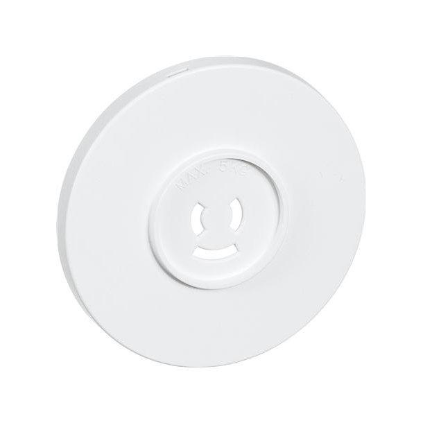 Afdækning Ø80 For Lampestikkontakt Hvid