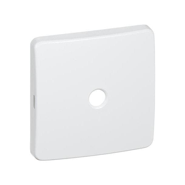 Dæksel 50X50 F Lampeudtag Hvid