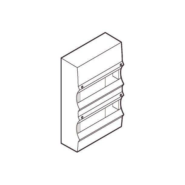 Dækkappe For UG150-12 Lysegrå