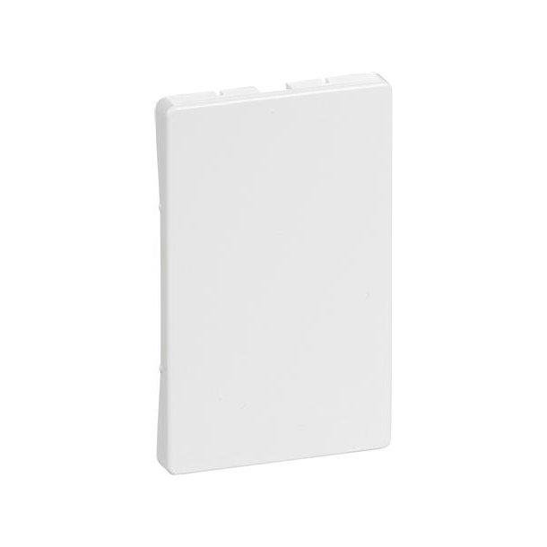 Fuga Afdækning 1,5 modul Blænd Hvid