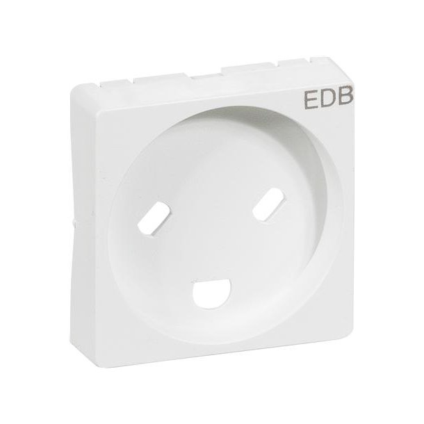 Fuga Afdækning 1 modul EDB Hvid