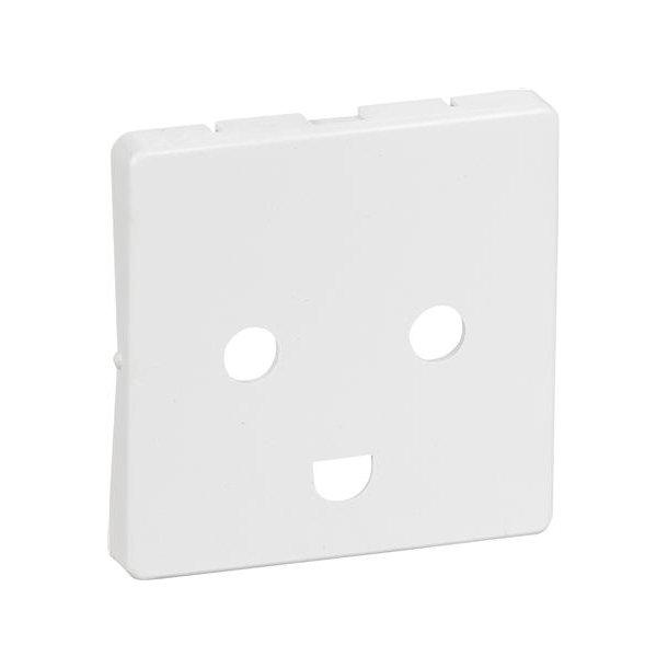 Fuga Afdækning 1 modul M/J U/Kr Hvid