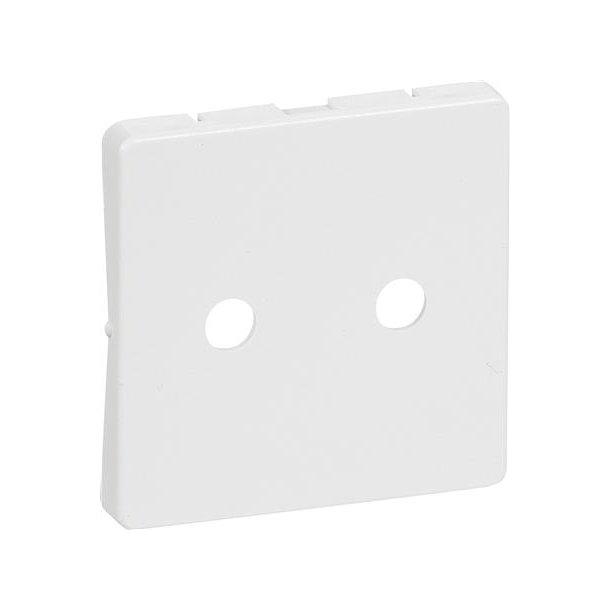 Fuga Afdækning 1 modul Stikkontakt Hvid