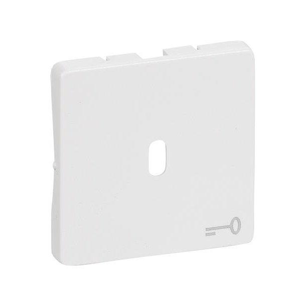 Fuga Afdækning 1 modul For Nøgle Hvid
