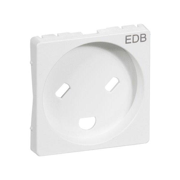 Fuga Afdækning 1 modul EDB M/J Hvid