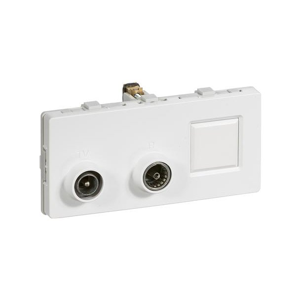 Fuga 2M Multi Tv-R Slf.Td312 Hvid