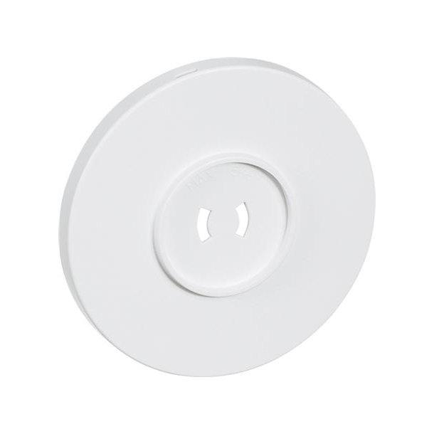 Afdækning For Ø80 Lampestikkontakt U/J Hvid
