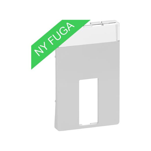 Afdækning Fuga 1xVGA, Db9/Hd15, U/Kon, 1½M Lysegrå (=10 stk.)