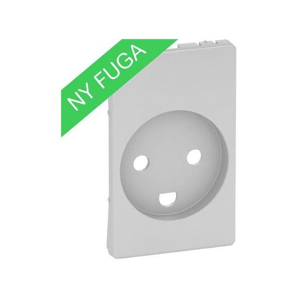 Afdækning Fuga Stik 2P M/J Led 1,5M  Lysegrå