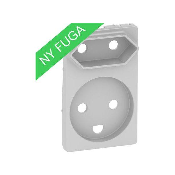 Afdækning Fuga Komb Kl1+Kl2 1,5M  Lysegrå
