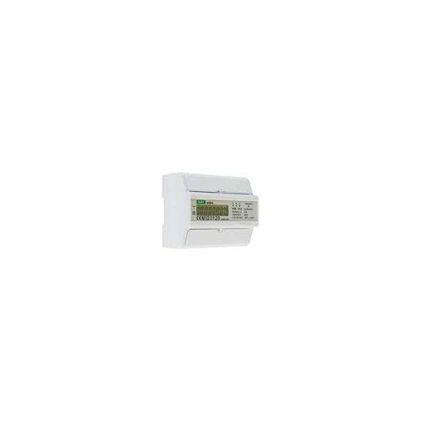kWh-måler, LCD, 3-faset, kl. B, 100A direkte, MID