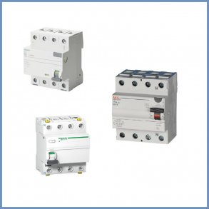 Fejlstrømsafbrydere (HPFI / PFI)