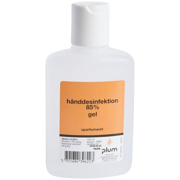 PLUM Håndsprit 85% Gel 150ml